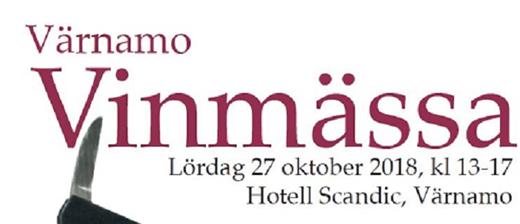 Bild för Värnamo Vinmässa, 2018-10-27, Scandic Värnamo