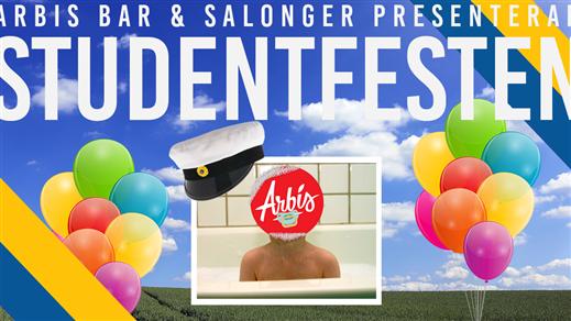 Bild för Studentfesten, 2018-06-15, Arbis Bar & Salonger
