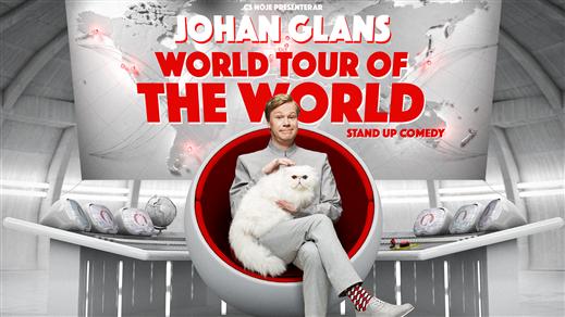 Bild för Johan Glans - World Tour Of The World, 2017-03-10, Idun, Umeå Folkets Hus