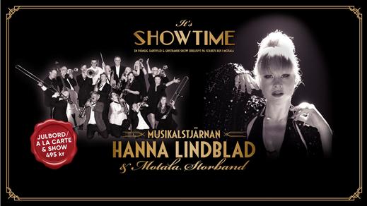 Bild för It's Showtime - Hanna Lindblad & Motala Storband, 2019-12-14, Folkets Hus Motala Teatersalongen