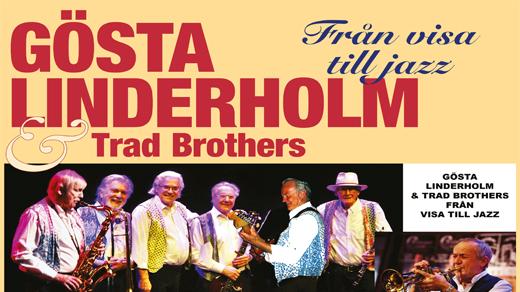 Bild för Gösta Linderholm & The Trad Brothers, 2019-11-26, Eskilstuna Teater