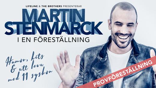 Bild för Provföreställning - Martin Stenmarck, 2017-04-19, Jönköpings Teater