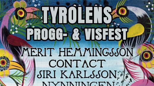 Bild för Tyrolens Progg- & Visfest, 2019-08-17, TYROLEN i Blädinge