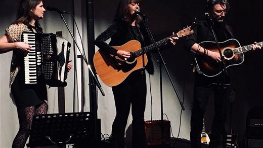 Bild för Live@Café NäRA:  Hillered, Lunau & Sund, 2018-04-14, Live @ Café NäRA