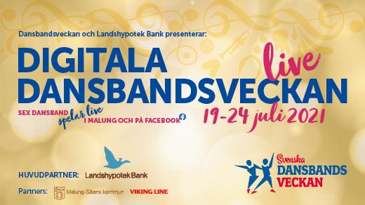 Bild för Dansbandsveckan livekonserter i Malung 2021, 2021-07-19, Folkets Park Orrskogen