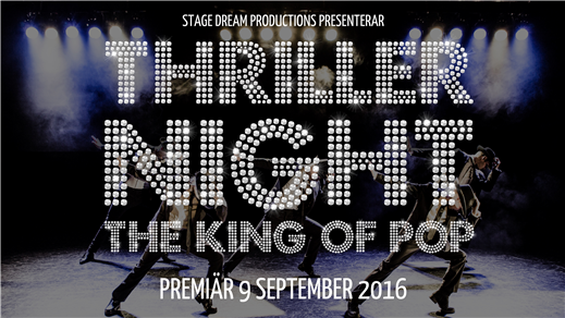 Bild för THRILLER NIGHT - The King Of Pop, 2016-09-11, Hässleholms Kulturhus, Röda Salongen