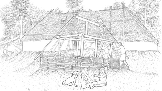 Bild för Vallaskogens okända fornlämningar, 2021-05-06, Gamla Linköping
