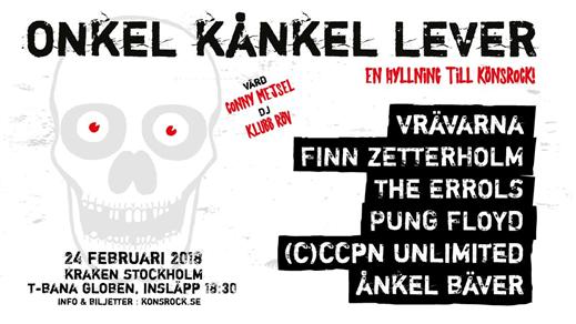 Bild för ONKEL KÅNKEL LEVER, 2018-02-24, Kraken Rökerigatan 1D