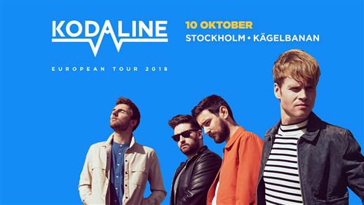 Bild för Kodaline, 2018-10-10, Kägelbanan Södra Teatern