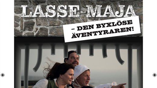 Bild för Lasse-Maja den byxlöse äventyraren, 2020-05-23, Carlstens Fästning