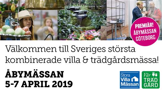 Bild för Stora Villamässan & Vår Trädgård Göteborg 2019, 2019-04-05, Åbymässan