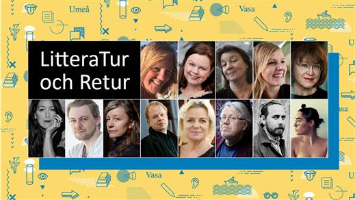 Bild för LitteraTur och Retur, 2018-04-07, Vävenscenen Onumrerad