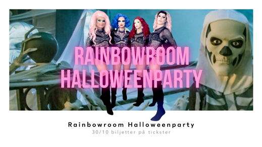 Bild för Rainbowroom Halloweenparty, 2021-10-30, Makeriet