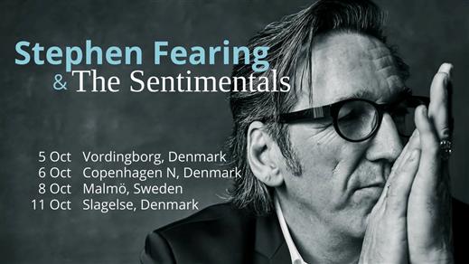 Bild för Stephen Fearing (CAN) & The Sentimentals, 2018-10-08, Folk Å Rock