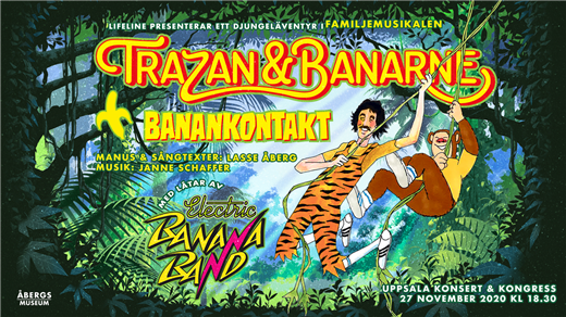 Bild för Familjemusikalen Trazan & Banarne, 2020-11-27, UKK - Stora salen