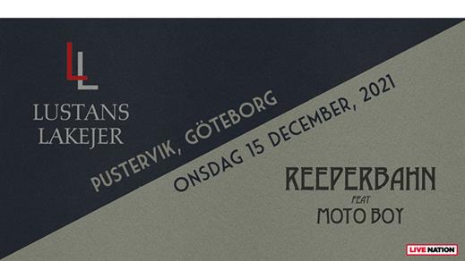 Bild för Lustan Lakejer + Reeperbahn, 2021-12-15, Pustervik