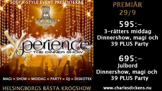 Bild för Xperience - The Dinner Show, 2018-09-29, Charles Dickens Pub & Restaurang