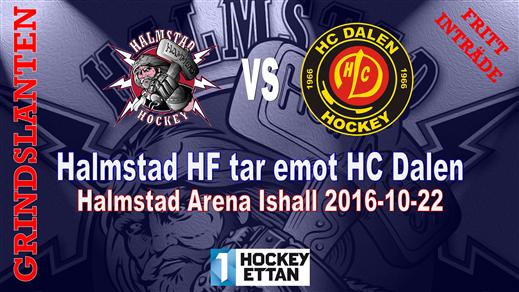 Bild för Halmstad HF vs. HC Dalen, 2016-10-22, Halmstad Arena