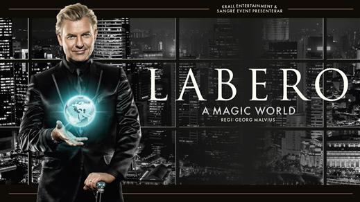 Bild för Joe Labero - A Magic World, 2017-03-24, Umeå Energi Arena
