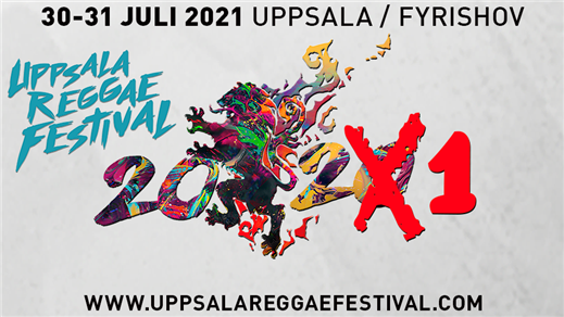 Bild för Uppsala Reggae Festival Supporter Ticket, 2020-05-07, Uppsala Reggae Festival