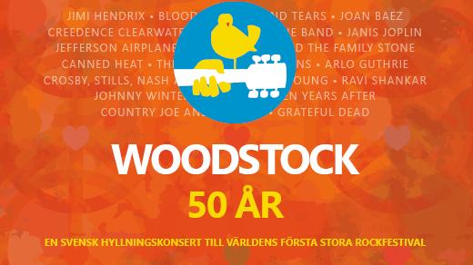 Bild för Woodstock 50 år, 2019-10-19, UKK - Stora salen
