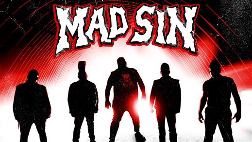 Bild för Mad Sin (D) + The Test Pilots, 2021-03-19, Musikens Hus Stora Scen