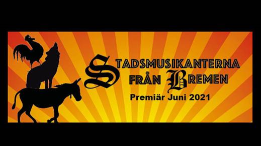 Bild för Stadsmusikanterna från Bremen, 2021-06-17, Teaterladan Wadköping