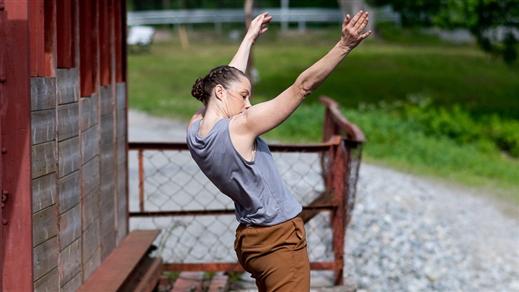 Bild för Guidad dansvandring vid Häfla hammarsmedja, 2021-07-02, Häfla Hammarsmedja