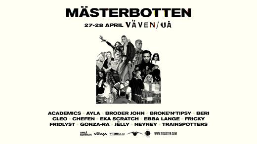Bild för Mästerbotten - Fredag, 2018-04-27, Vävenscenen Onumrerad