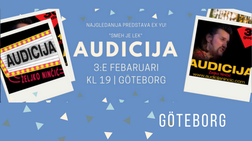 Bild för Predstava Audicija, 2017-02-03, Världskultur Museet