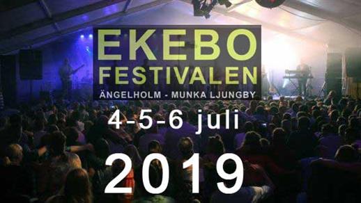 Bild för EKEBOFESTIVALEN 2019, 2019-07-04, Ekebo Nöjescentrum