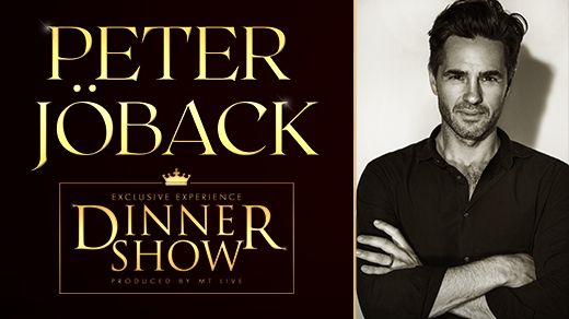 Bild för Exclusive Dinner Show – Peter Jöback, 2020-10-17, Elite Stora Hotellet