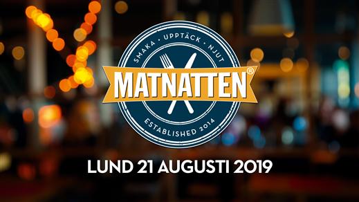 Bild för Matnatten LUND 21 augusti 2019, 2019-08-21, Lund