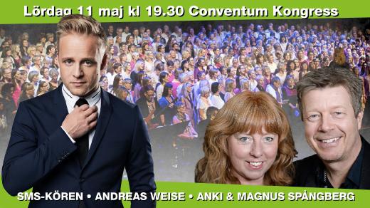 Bild för Andreas Weise & Sjung Med Spångberg, 2019-05-11, Conventum Kongress