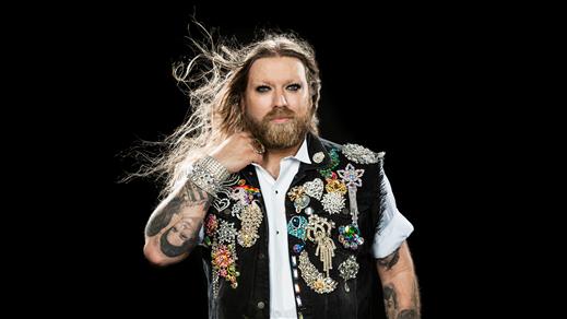Bild för Rickard Söderberg är Gaytenor, 2018-03-22, Sagateatern X