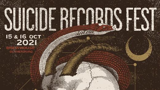 """Bild för SUICIDE RECORDS FEST    """"15 Years Of Mayhem"""", 2021-10-15, Brewhouse"""