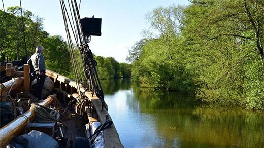 Bild för Med Sunbeam till Wiks slott, 2021-06-01, Forskningsfartyget Sunbeam