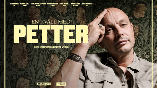 Bild för En kväll med Petter, 2021-11-06, Åhaga