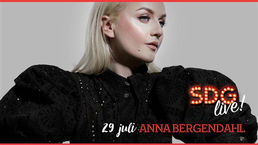 Bild för Anna Bergendahl på SDG Live!, 2020-07-29, SDG Live, Smådalarö Gård