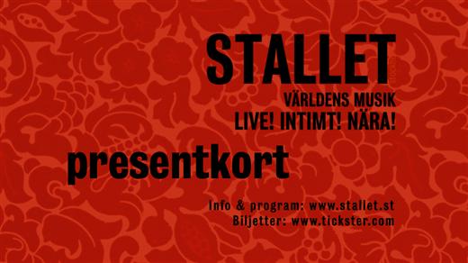 Bild för Presentkort Stallet - Världens Musik, 2016-01-01, Stallet - Världens Musik