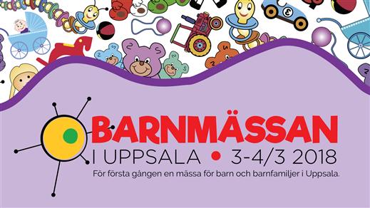 Bild för Barnmässan i Uppsala, 2018-03-03, Fyrishov