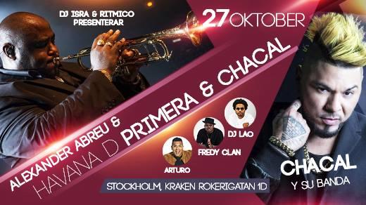 Bild för Havana D'Primera & El Chacal LIVE, 2017-10-27, Kraken