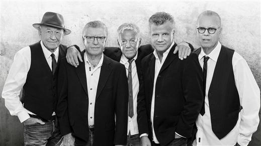 Bild för Flamingokvintetten - The Farewell Tour, 2021-11-04, Hebeteatern, Folkets Hus Kulturhuset