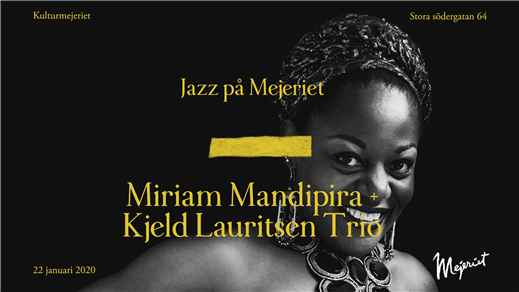 Bild för Miriam Mandipira - Klubb Plektrum, 2020-01-22, Mejeriet