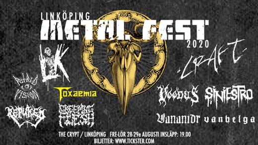 Bild för Linköping Metal Fest 2020 - Lördag, 2020-08-29, The Crypt LKPG