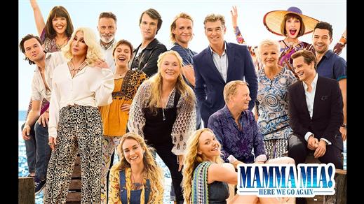 Bild för Mamma Mia! Here We Go Again, 2018-10-14, Järpenbion