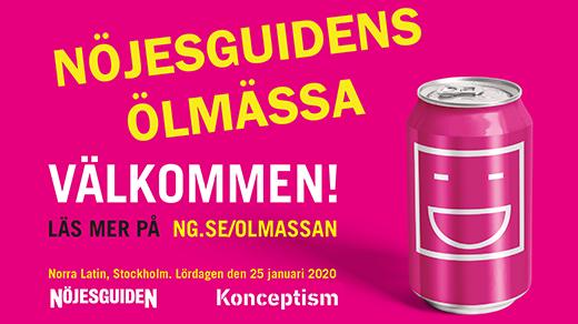 Bild för Ölmässan Stockholm 2020, 2020-01-25, Norra Latin