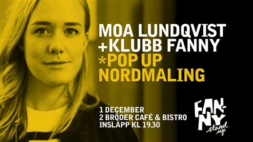 Bild för Klubb Fanny - Pop Up Nordmaling, 2017-12-01, 2 Bröder Café & Bistro