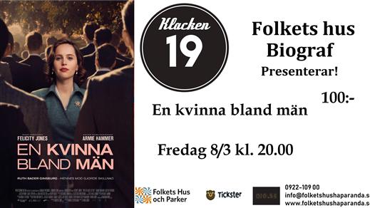 Bild för En Kvinna Bland Män, 2019-03-08, Biosalongen Folkets Hus