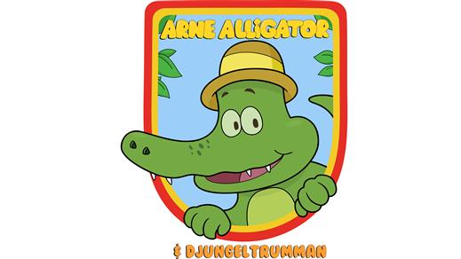 Bild för Arne Alligator och Djungeltrumman, 2019-09-14, Kulturhuset Finspång, Stora Salongen